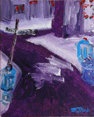 Christmas on Minetto Lane, 1956 Moderski Collection